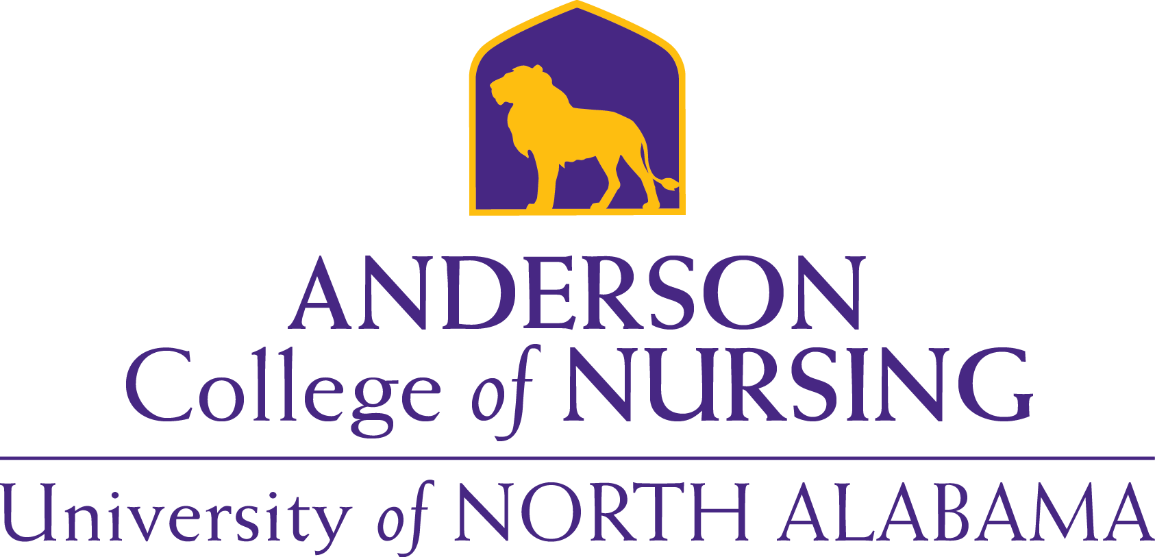 Anderson College of Nursing Lion Gold