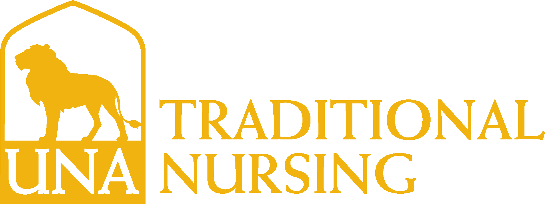 Anderson College of Nursing Traditional Logo - Gold - Version 3