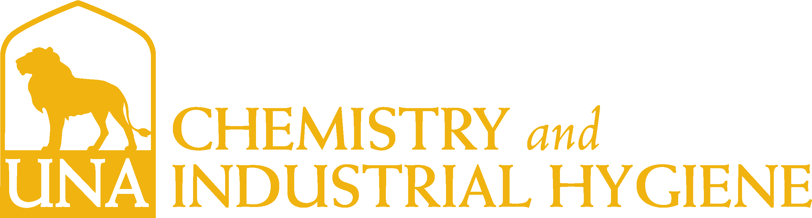 College of Arts and Sciences - Chemistry Logo - Gold - Version 3