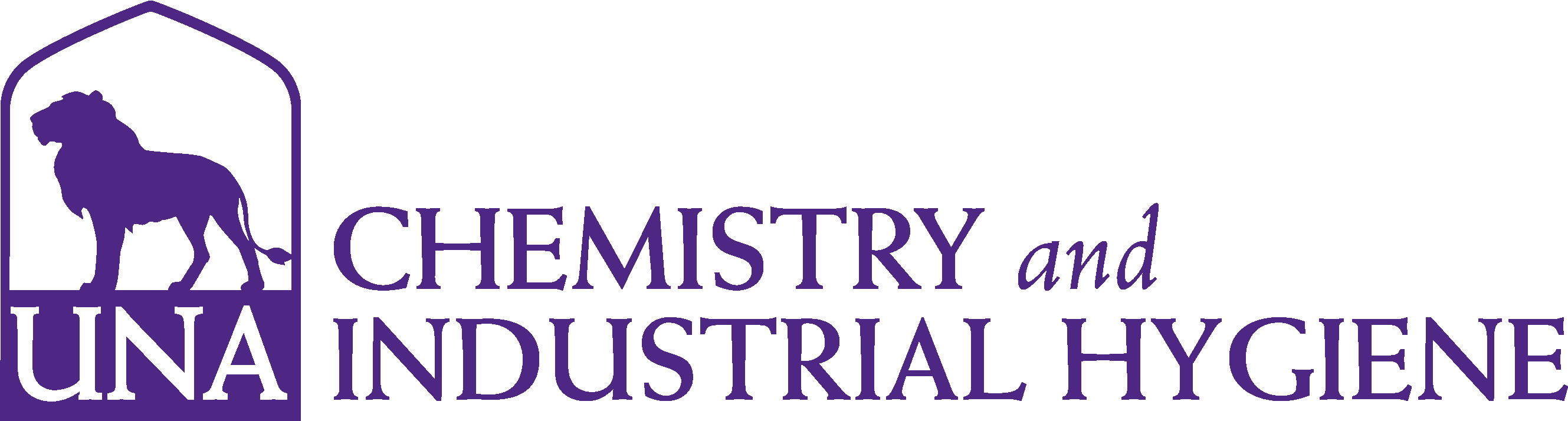 College of Arts and Sciences - Chemistry Logo - Purple - Version 3