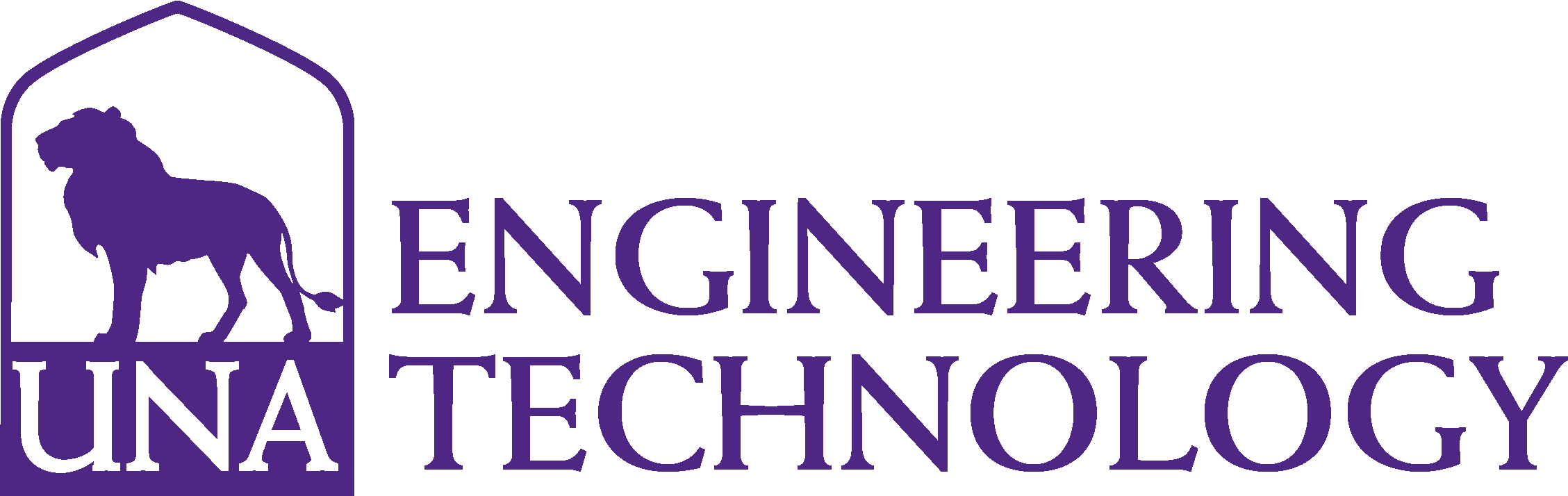 College of Arts and Sciences - Engineering Logo - Purple - Version 3