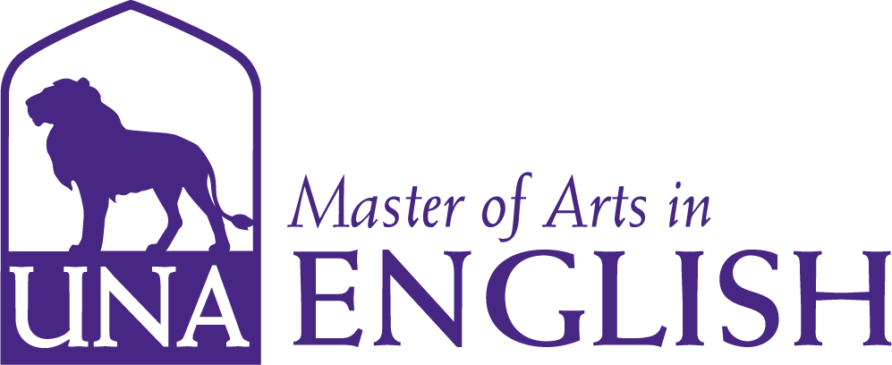 English Masters Dept Merchandise logo in Purple