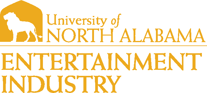 College of Arts and Sciences - Entertainment Industry Logo - Gold - Version 1