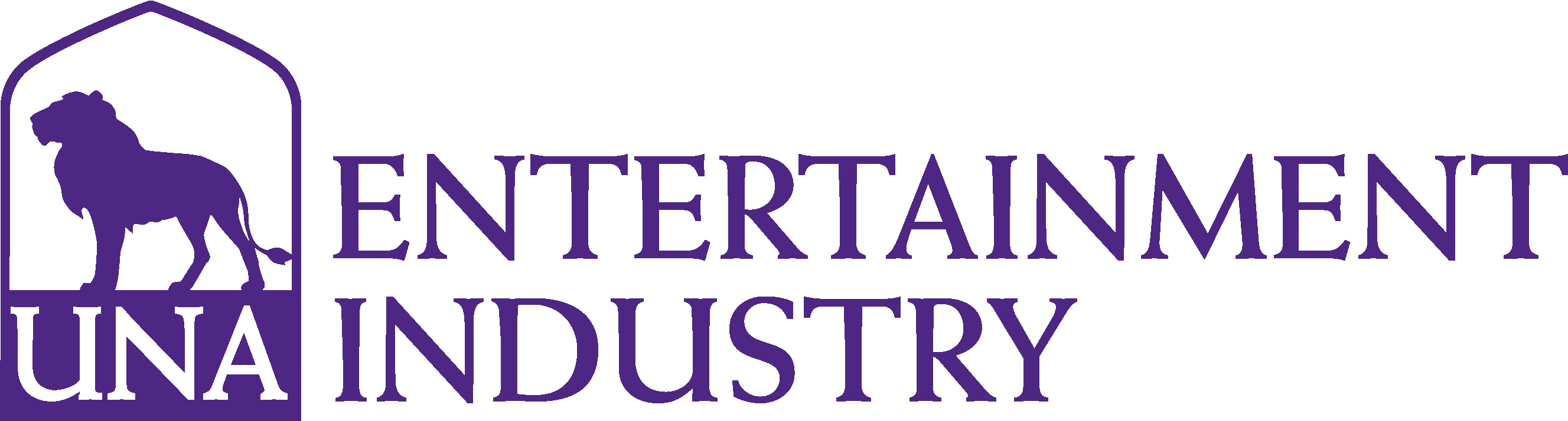 College of Arts and Sciences - Entertainment Industry Logo - Purple - Version 3