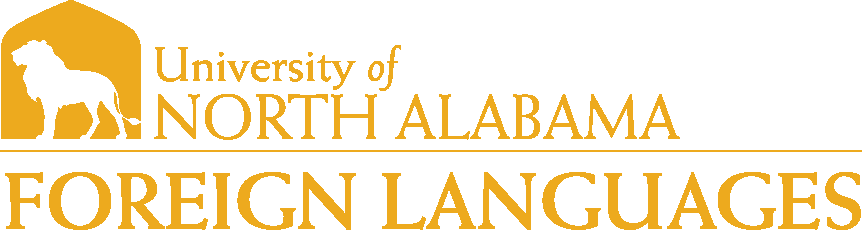 College of Arts and Sciences - Foreign Languages Logo - Gold - Version 1