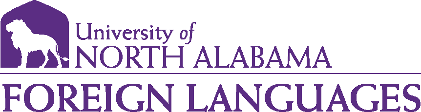 College of Arts and Sciences - Foreign Languages Logo - Purple - Version 1