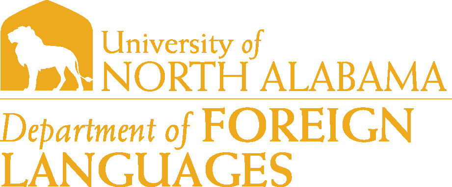 College of Arts and Sciences - Foreign Languages Logo - Gold - Version 6