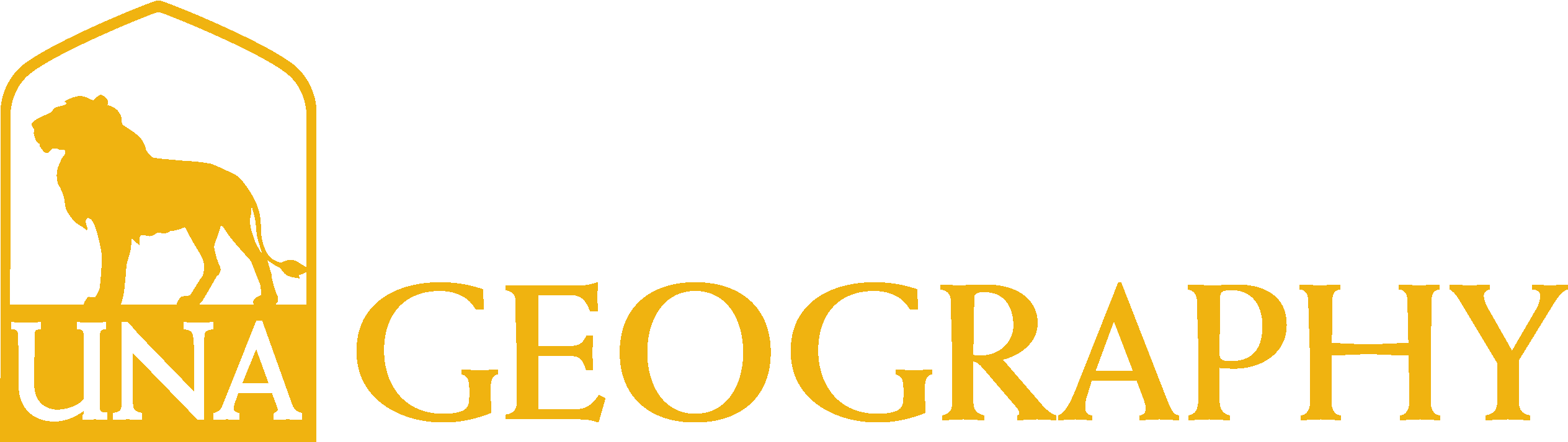 College of Arts and Sciences - Geography Logo - Gold - Version 3