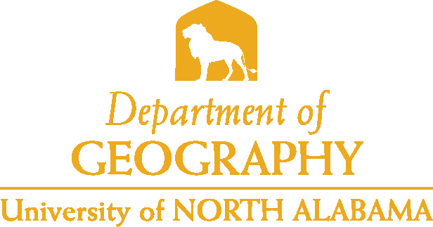 College of Arts and Sciences - Geography Logo - Gold - Version 4