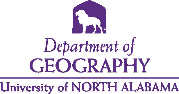 College of Arts and Sciences - Geography Logo - Purple - Version 4