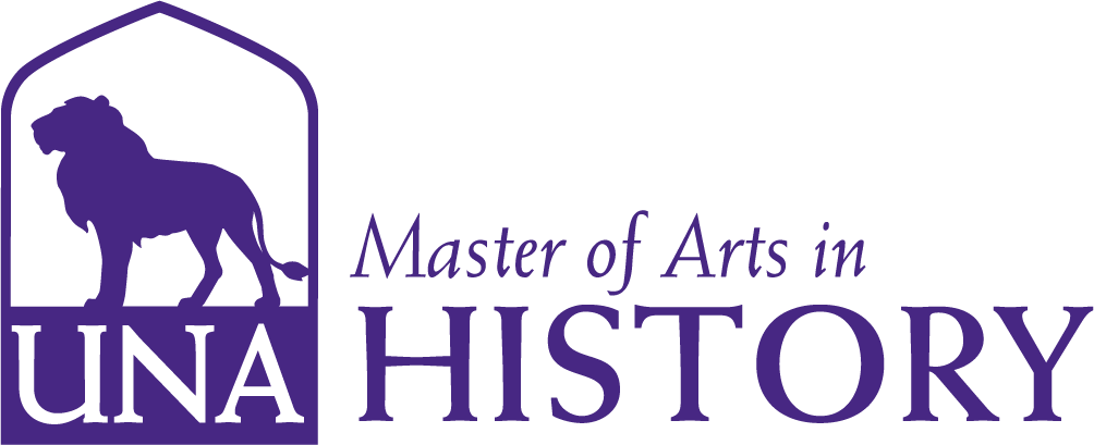 History, M.A. Masters Dept Merchandise logo in Purple