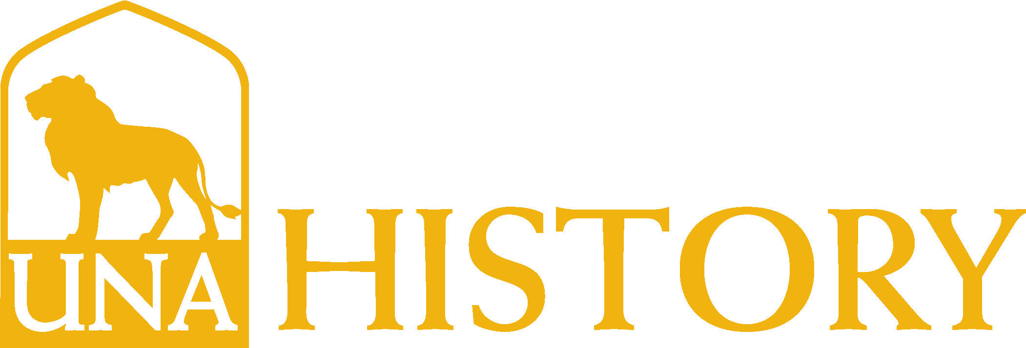 College of Arts and Sciences - History Logo - Gold - Version 3