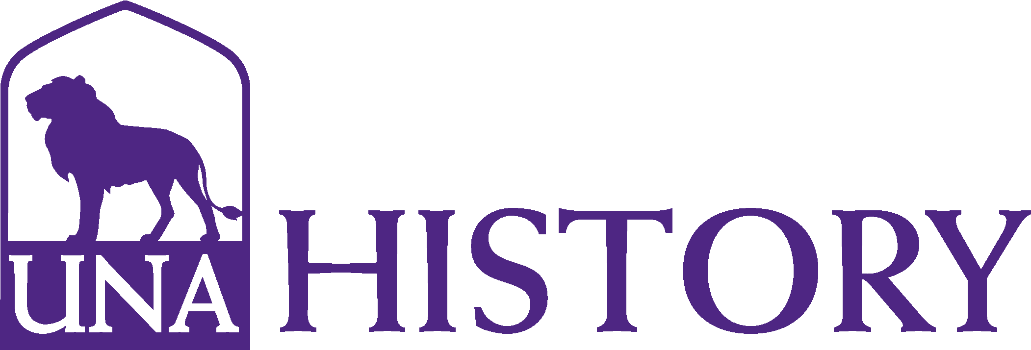 College of Arts and Sciences - History Logo - Purple - Version 3