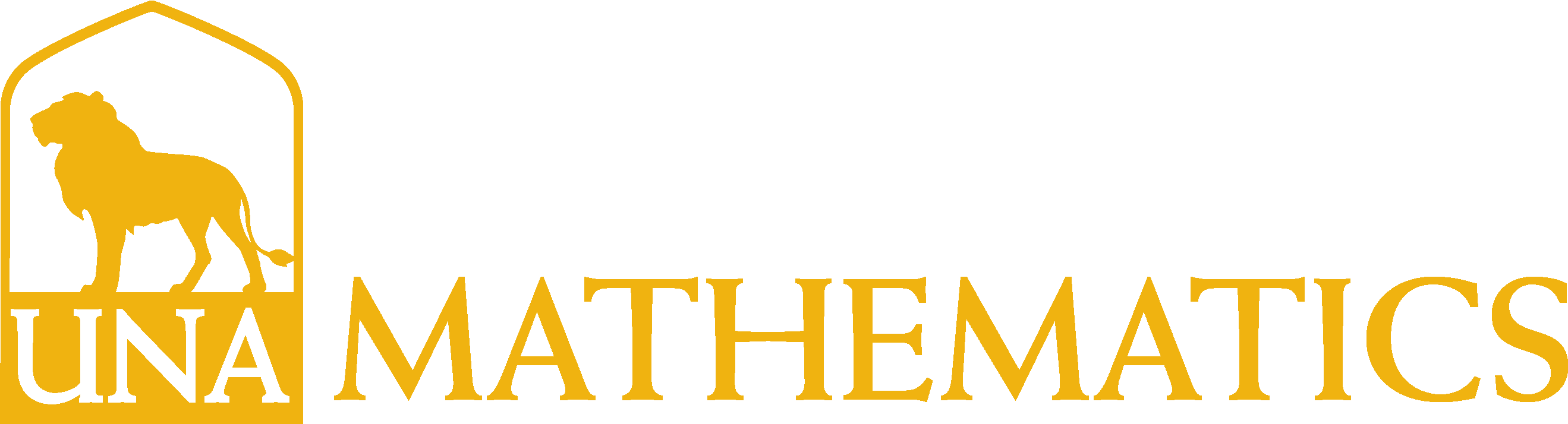 College of Arts and Sciences - Mathematics Logo - Gold - Version 3