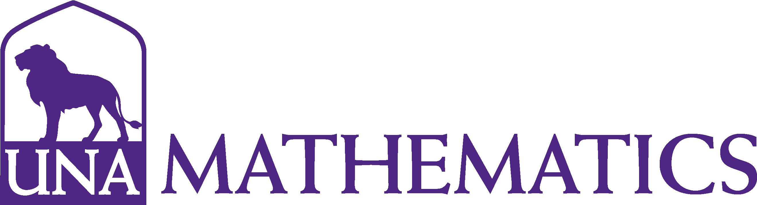 College of Arts and Sciences - Mathematics Logo - Purple - Version 3