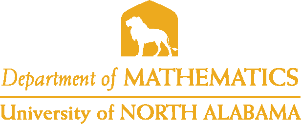 College of Arts and Sciences - Mathematics Logo - Gold - Version 4