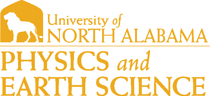 College of Arts and Sciences - Physics and Earth Science Logo - Gold - Version 1