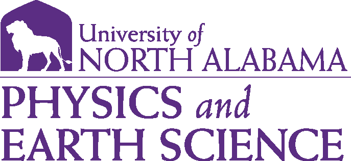 College of Arts and Sciences - Physics and Earth Science Logo - Purple - Version 1