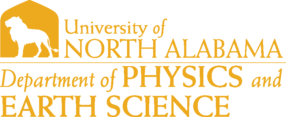 College of Arts and Sciences - Physics and Earth Science Logo - Gold - Version 6
