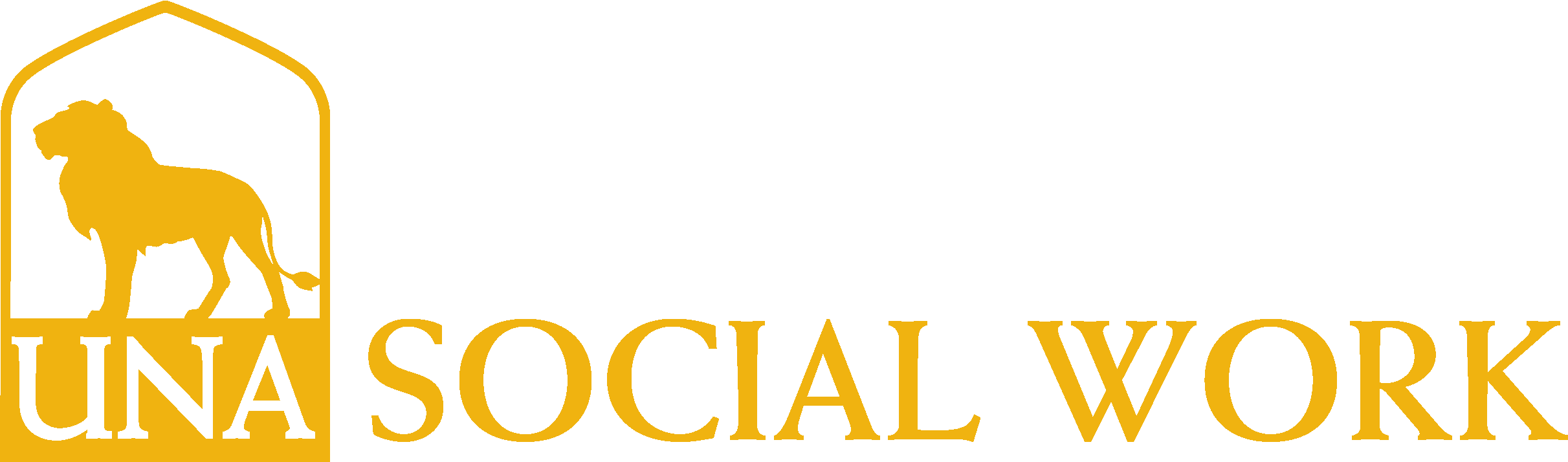 College of Arts and Sciences - Social Work Logo - Gold - Version 3