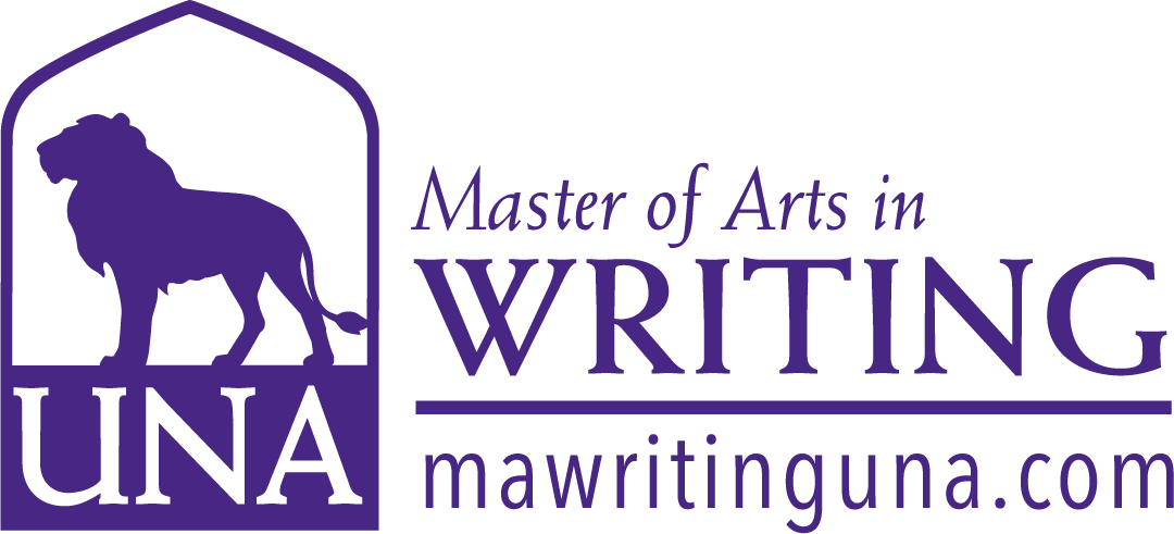Writing Masters Dept Merchandise logo in Purple