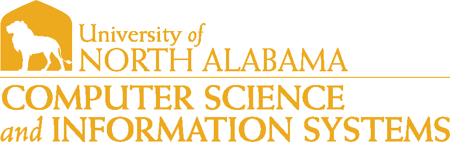 College of Business - Computer Science and Information Systems Logo - Gold - Version 1