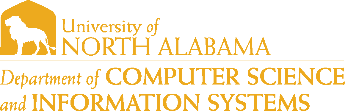 College of Business - Computer Science and Information Systems Logo - Gold - Version 6