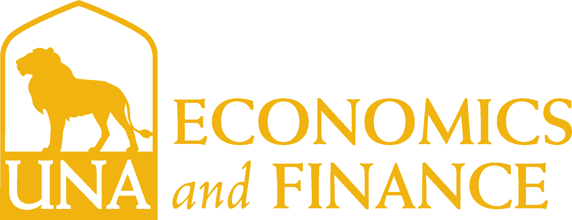 College of Business - Economics and Finance Logo - Gold - Version 3