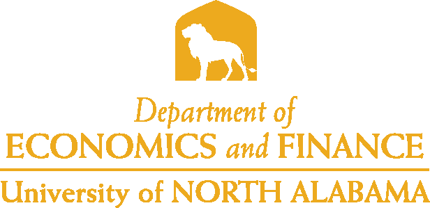 College of Business - Economics and Finance Logo - Gold - Version 4