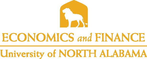 College of Business - Economics and Finance Logo - Gold - Version 5