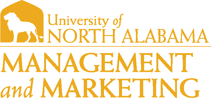 College of Business - Management and Marketing Logo - Gold - Version 1