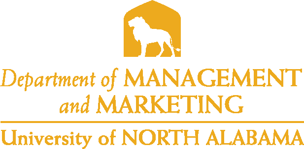 College of Business - Management and Marketing Logo - Gold - Version 4