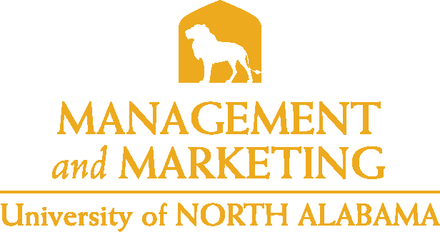 College of Business - Management and Marketing Logo - Gold - Version 5