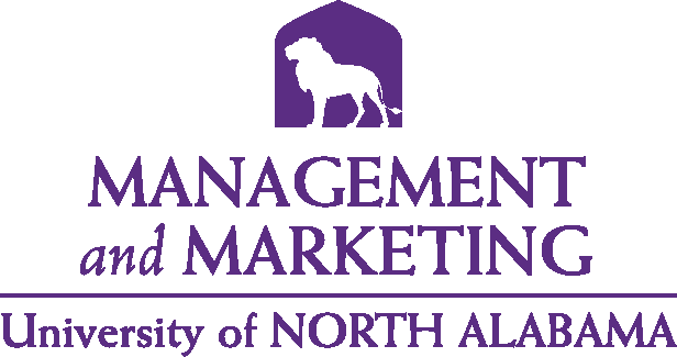 College of Business - Management and Marketing Logo - Purple - Version 5