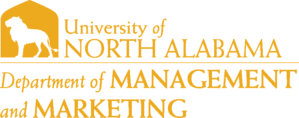 College of Business - Management and Marketing Logo - Gold - Version 6