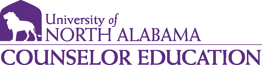 College of Education and Human Sciences - Counselor Education Logo - Purple - Version 1