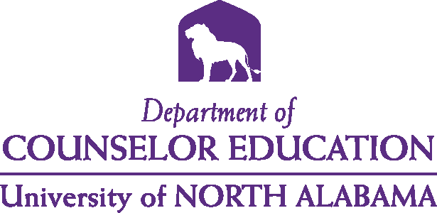 College of Education and Human Sciences - Counselor Education Logo - Purple - Version 4