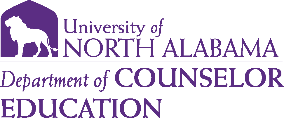 College of Education and Human Sciences - Counselor Education Logo - Purple - Version 6