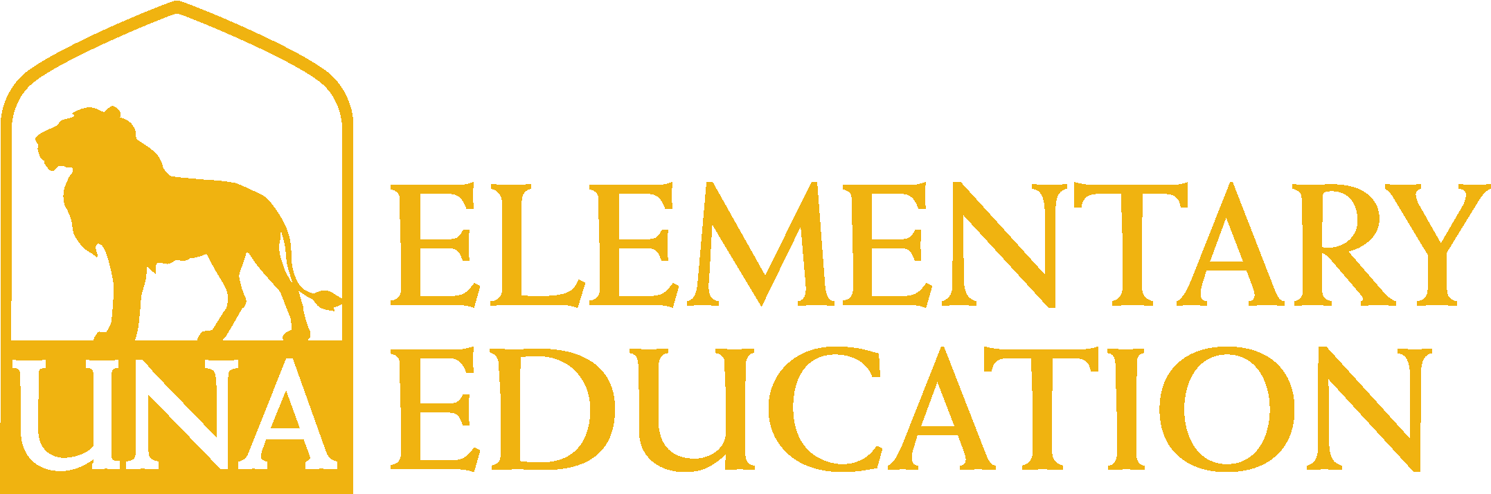 College of Business - Elementary Education Logo - Gold - Version 3