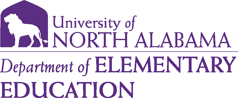 College of Business - Elementary Education Logo - Purple - Version 6