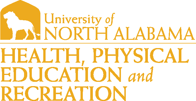 College of Education and Human Services - Health Physical Education & Recreation Logo - Gold - Version 1