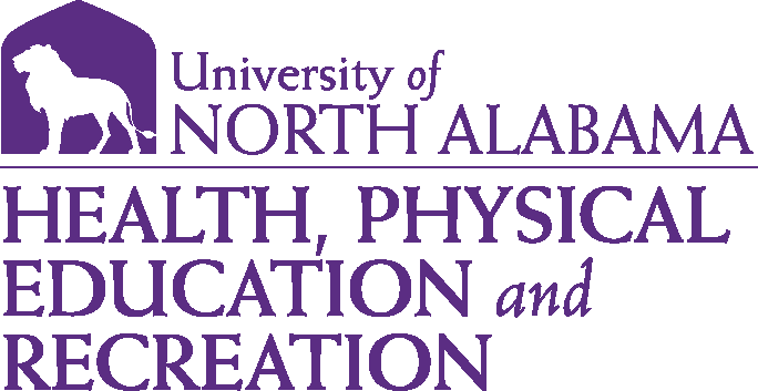 College of Education and Human Services - Health Physical Education & Recreation Logo - Purple - Version 1