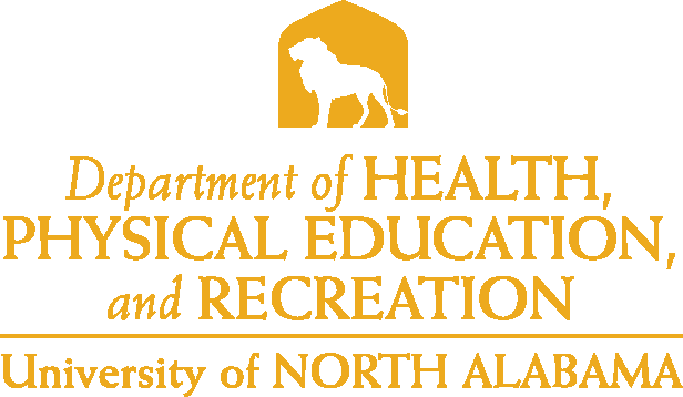 College of Education and Human Services - Health Physical Education & Recreation Logo - Gold - Version 4