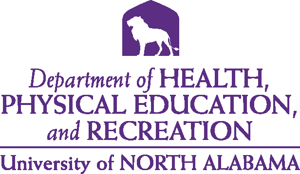 College of Education and Human Services - Health Physical Education & Recreation Logo - Purple - Version 4