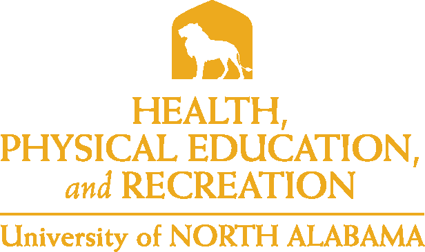 College of Education and Human Services - Health Physical Education & Recreation Logo - Gold - Version 5