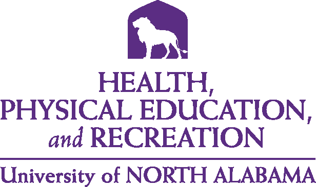 College of Education and Human Services - Health Physical Education & Recreation Logo - Purple - Version 5