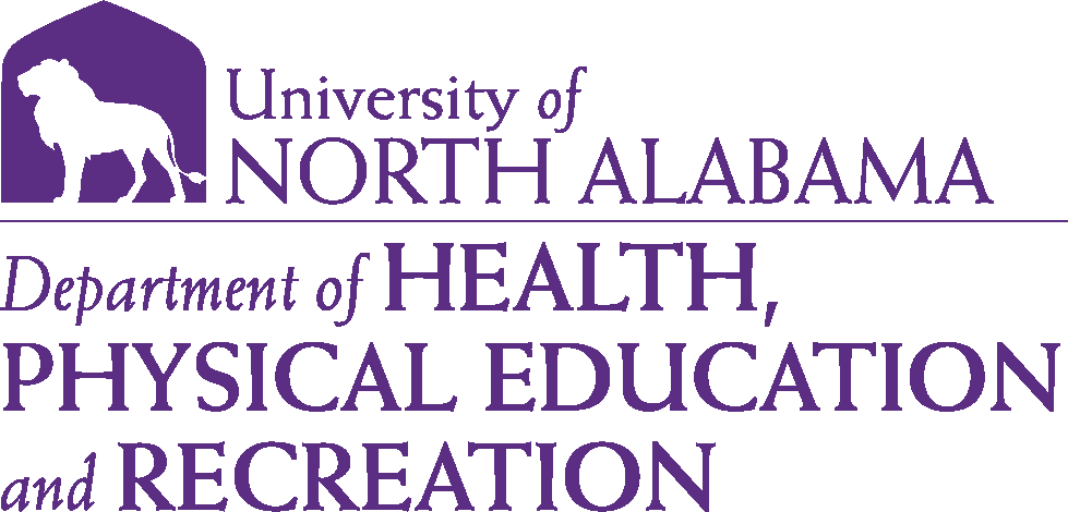 College of Education and Human Services - Health Physical Education & Recreation Logo - Purple - Version 6