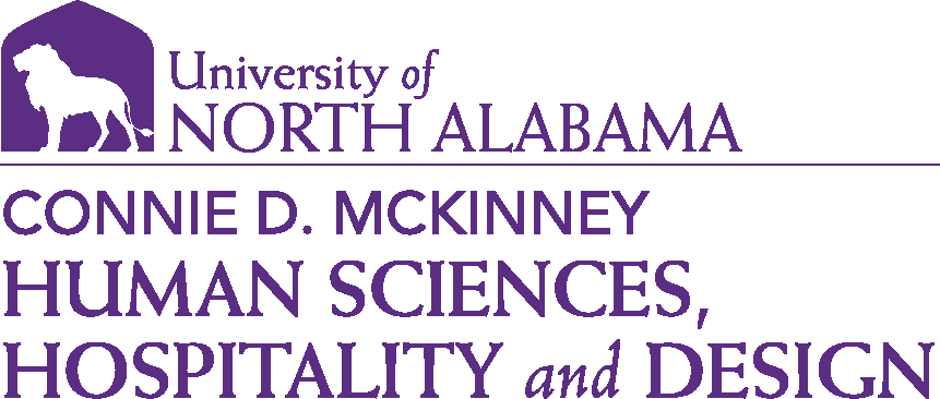 College of Education and Human Services - Human Sciences and Hospitality Design Logo - Purple - Version 1