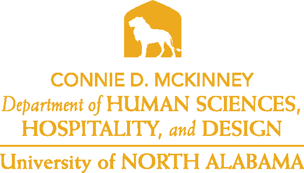 College of Education and Human Services - Human Sciences and Hospitality Design Logo - Gold - Version 4