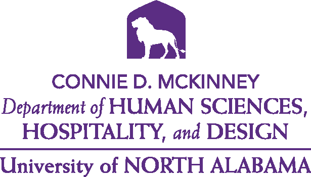 College of Education and Human Services - Human Sciences and Hospitality Design Logo - Purple - Version 4